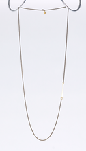 nature bone brass necklace #3