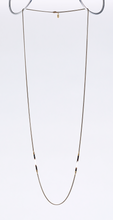 nature porcupine dual brass necklace #3