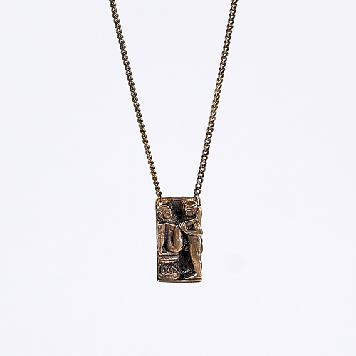 treasure kama sutra brass necklace #2
