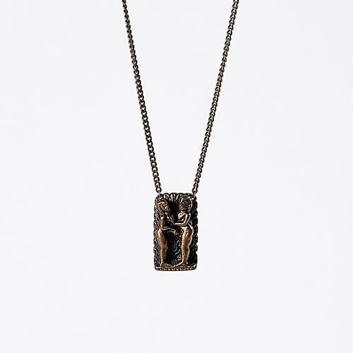 treasure kama sutra brass necklace #3
