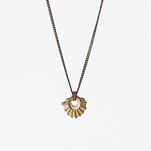 treasure nature madaka brass necklace #1