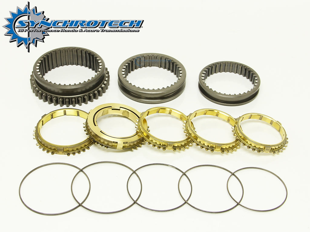 Brass Synchro Sleeve Set 1-5 GSR ITR B16 (92-01)
