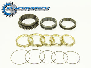 Brass Synchro Sleeve Set 1-5 Integra (LS)