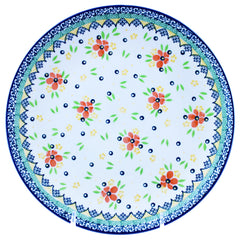 Polish Pottery 10'' Dinner Plate 257- 2357X