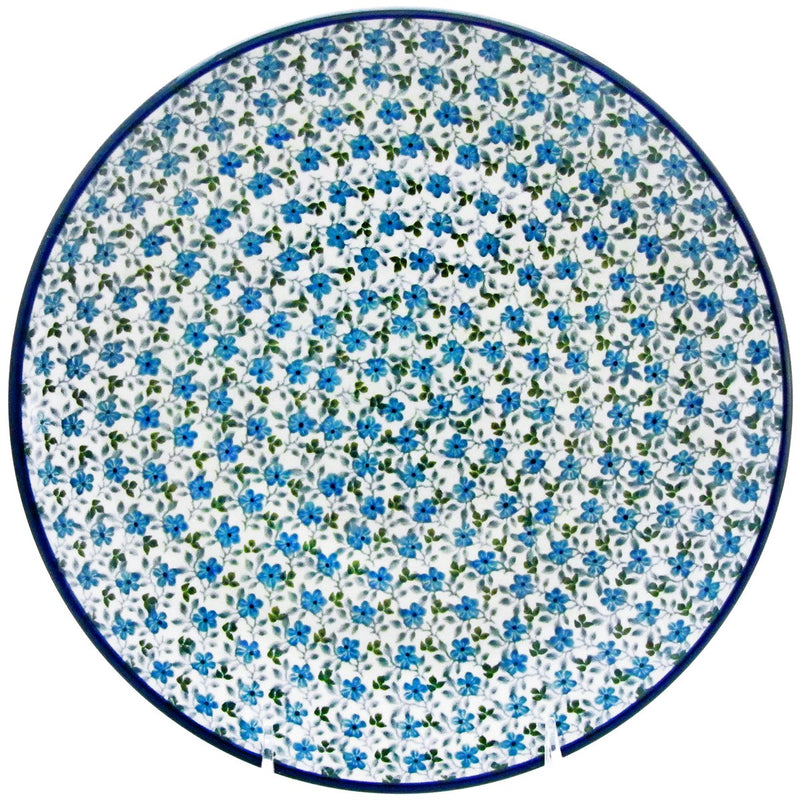 "Polish Pottery 10.5"" Dinner Plate  223-2162X"