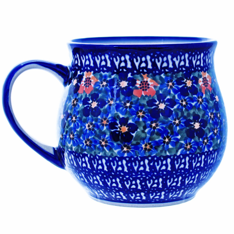 Polish Pottery 20 oz Large Bell Mug - U232
