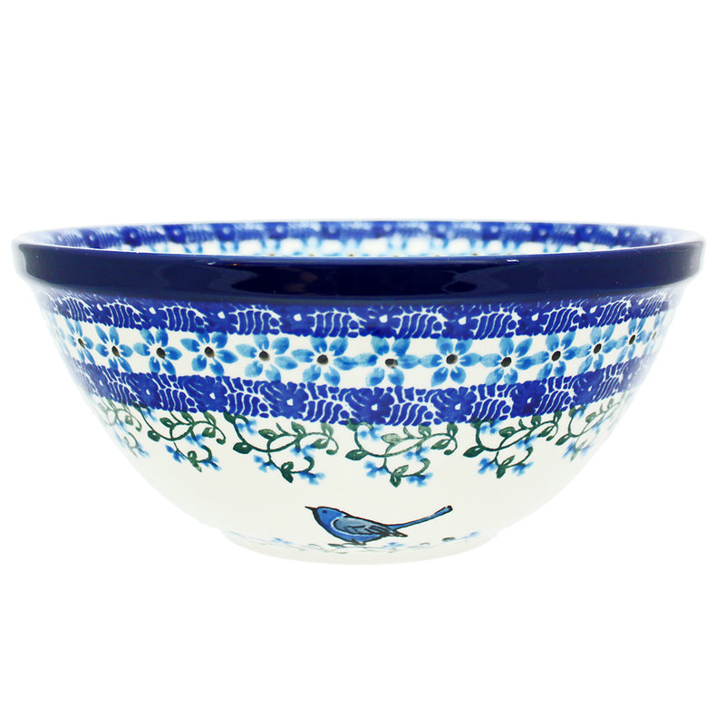 "Polish Pottery CA 8"" Old Kitchen Nesting Bowl - 1932X"