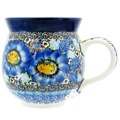Polish Pottery Signature Series 10 oz. Bubble Mug 070-U4659