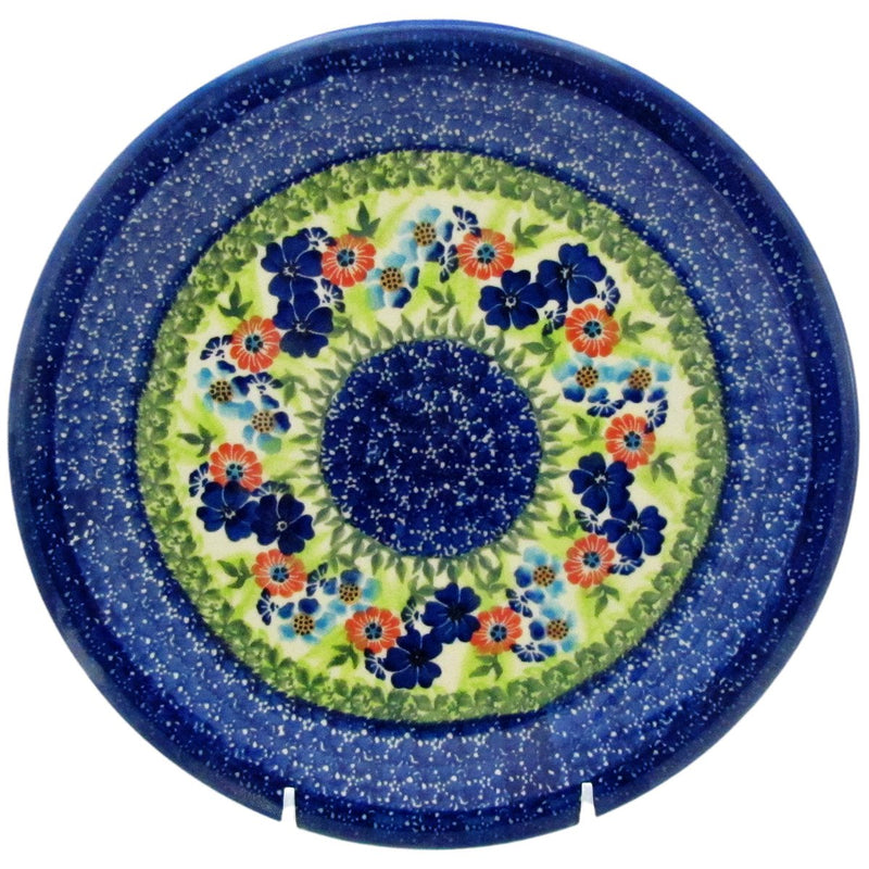 "Polish Pottery 10.25"" Dinner Plate Unikat - U231"