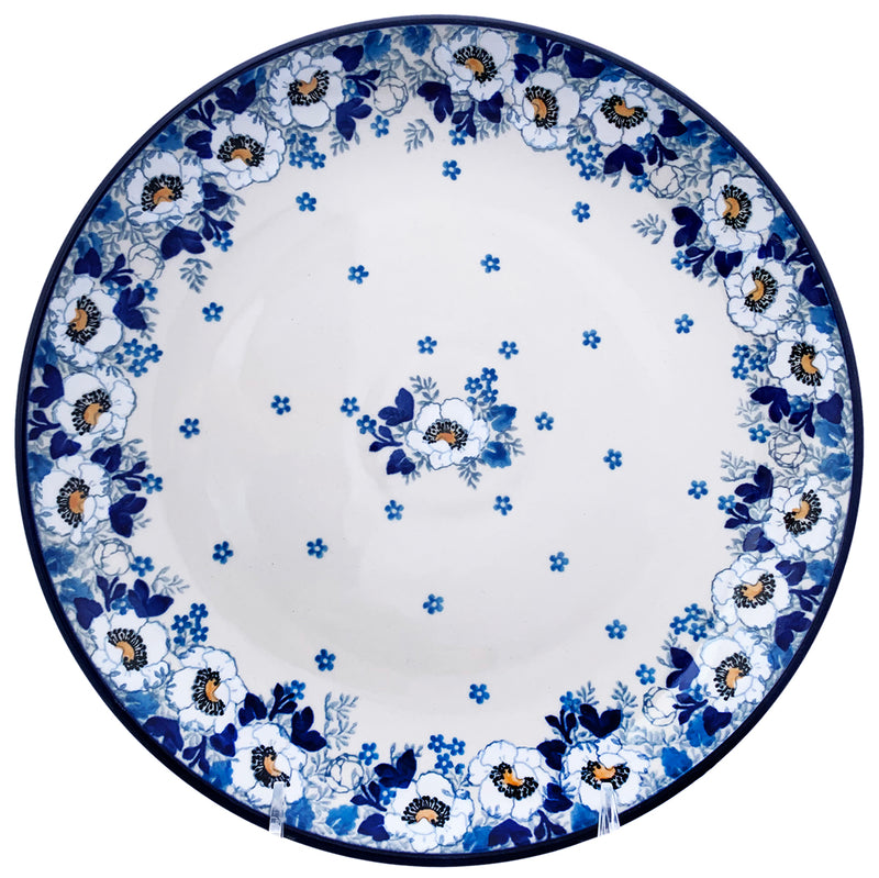 Polish Pottery 10'' Dinner Plate 257- 2222X