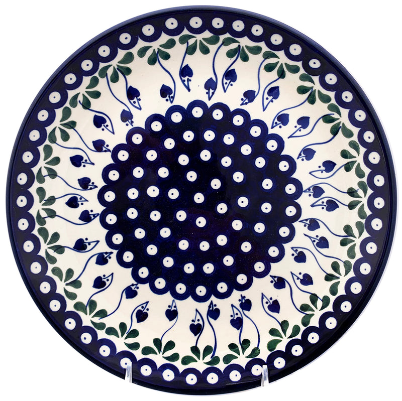 "Polish Pottery 10.5"" Dinner Plate 223-377X"