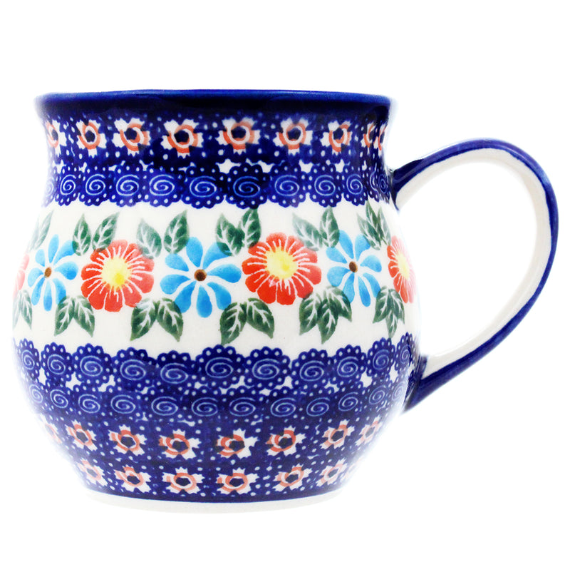 Polish Pottery 14 oz Medium Bell Mug - U213