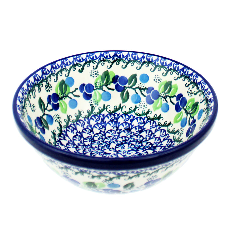 "Polish Pottery CA 6.75"" Nesting Bowl - 1416X"
