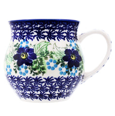 Polish Pottery 14 oz Medium Bell Mug - U203