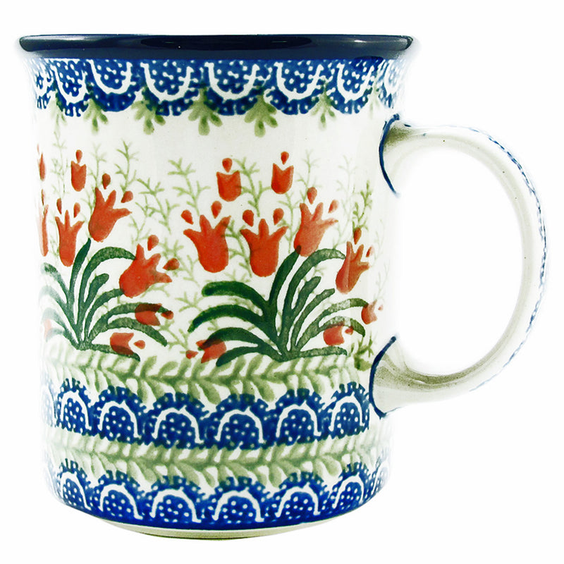 Polish Pottery CA 16 oz Tall Casual Mug - 1437X