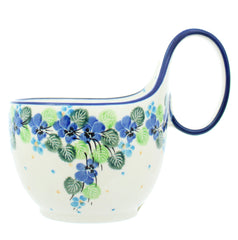 Polish Pottery CA 14 oz. Loop Handled Soup Mug - 2339X