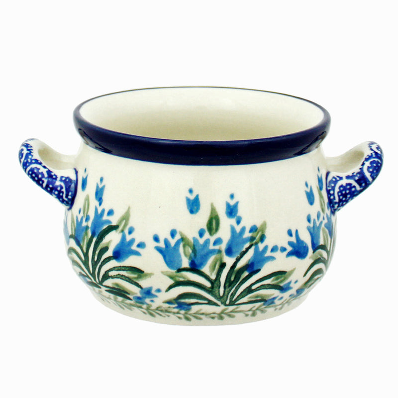 Polish Pottery CA 10 oz. Soup Chili Dip Bowl w Handles - 1432X
