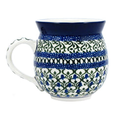 Polish Pottery CA 12 oz Bubble Mug - 585X