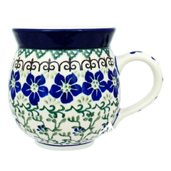 Polish Pottery CA 12 oz Bubble Mug - 1073X