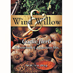 Wind & Willow 1.2 oz. Cheeseball and Appetizer Mix - Garlic Herb