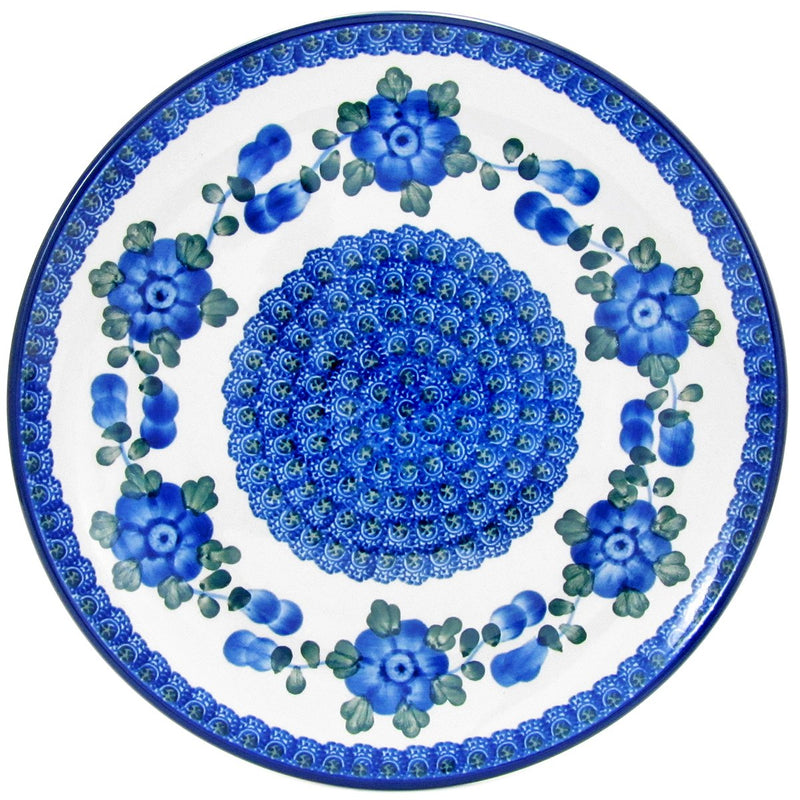 Polish Pottery 10'' Dinner Plate 257- 163X