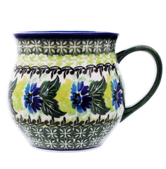 Polish Pottery 14 oz Medium Bell Mug - U207