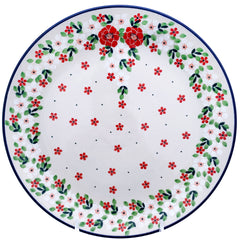 Polish Pottery 10'' Dinner Plate 257- 2352X