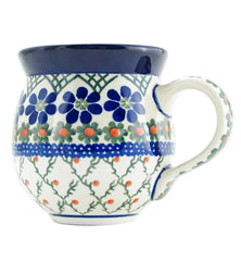 Polish Pottery CA 16 oz Bubble Mug - 854A