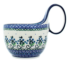 Polish Pottery CA 14 oz. Loop Handled Soup Mug - 1192X