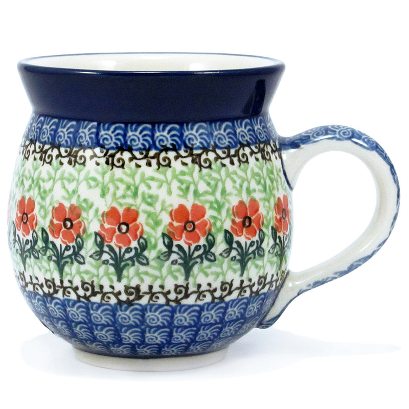 Polish Pottery CA 16 oz Bubble Mug - 1916X