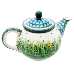 Polish Pottery THREE CUP TEAPOT - 264-U803