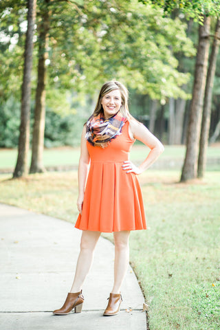 Dreamsicle Dress, Orange - Rich in Radiance - 1