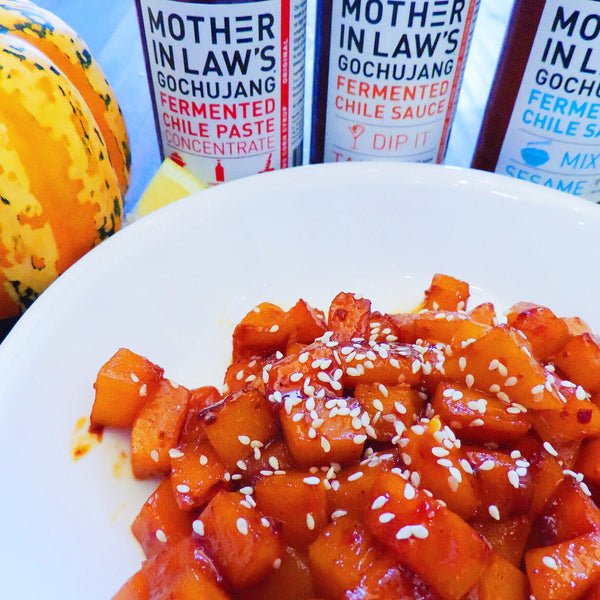 Spice Up your Traditional Thanksgiving Table with Mother-in-Law's Gochujang