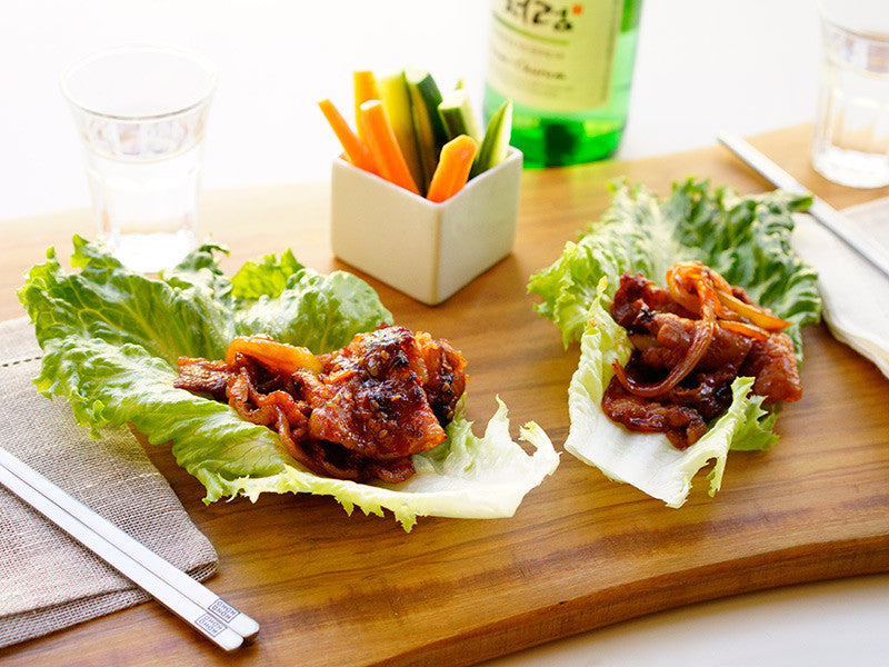 Pork Belly Ssam Lettuce Wrap