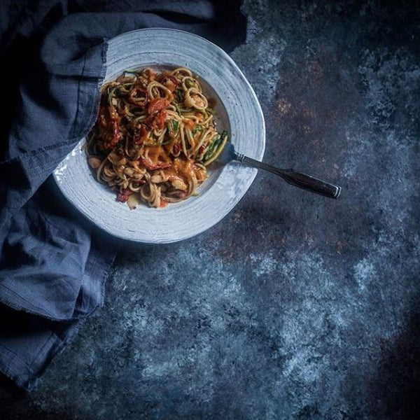 Spaghetti Arrabiata by The Korean Vegan