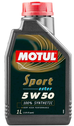 Motul 5W50 Sport Oil 1L Bottle