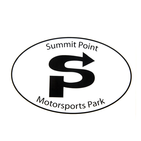 "Summit Point Classic Logo 4""x6"" Oval Decal"