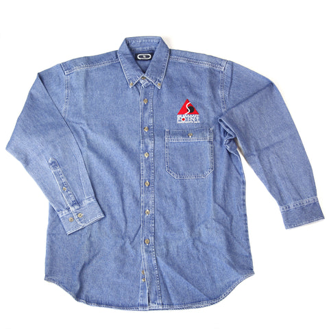 Clearance! Summit Point Long Sleeve Denim Shirt