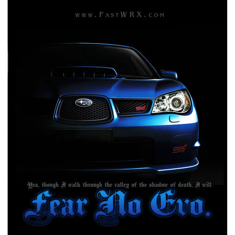 Fear No Evo Back