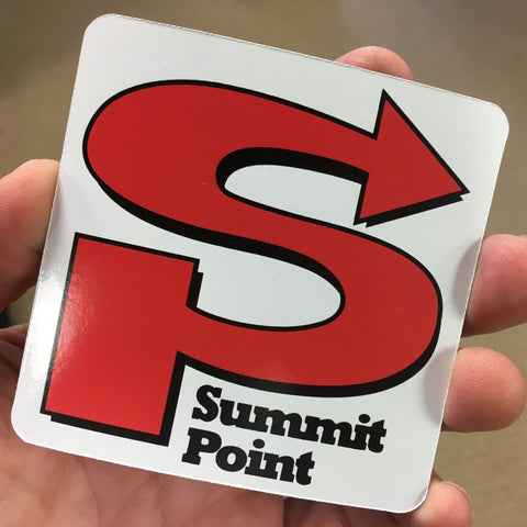 "Summit Point Classic Logo Magnet 3"" Square"