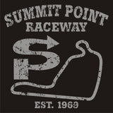 Summit Point Weathered Track Map Tee