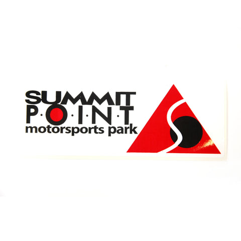 Summit Point Contemporary Logo Bumper Sticker