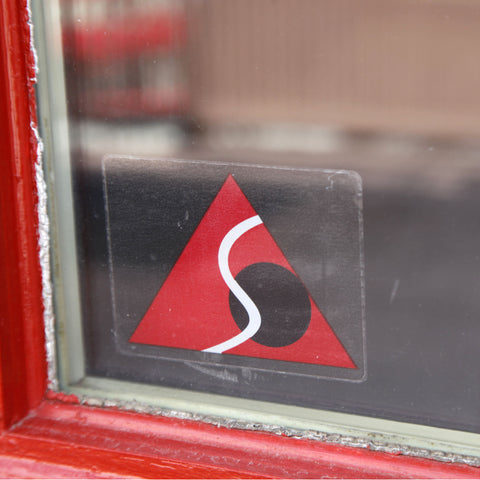 Summit Point Contemporary Logo Inside Window Decal