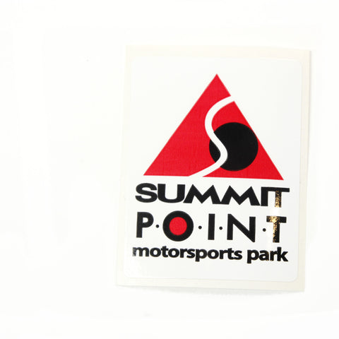 Summit Point Contemporary Logo Decal