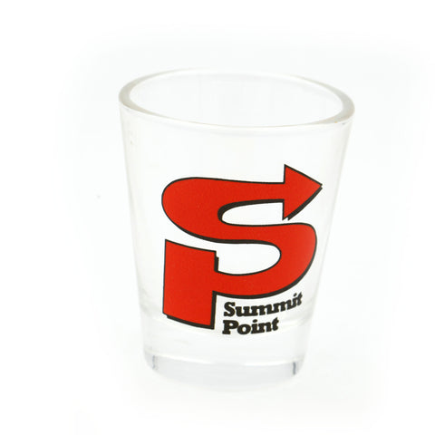 Summit Point Shot Glass