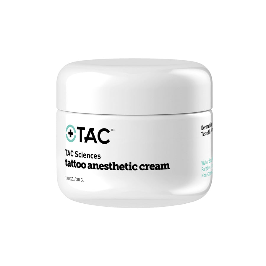 Tattoo Anesthetic Cream - TAC Sciences