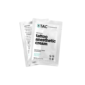 Tattoo Anesthetic Cream (Single Use Packets) - TAC Sciences