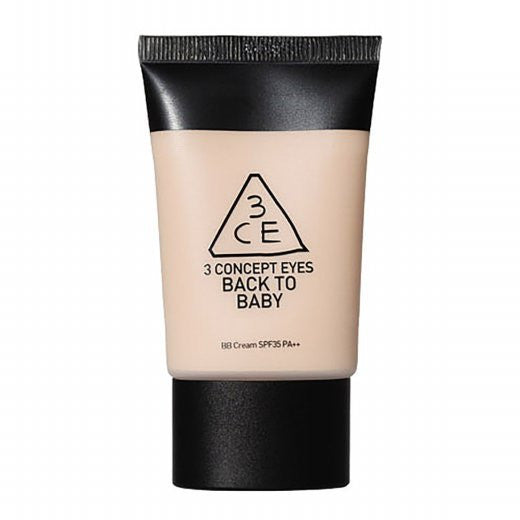 3CE Back To Baby BB Cream SPF 35 PA+++ - K GLAM