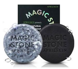 APRIL SKIN Magic Stone 100% Natural Cleansing Soap - K GLAM