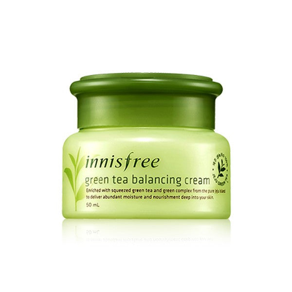 INNISFREE Green Tea Balancing Cream - K GLAM